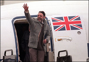 Terry Waite Released, Nov. 18,1991